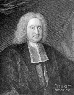 Edmond Halley, English Polymath Art Print by Photo Researchers