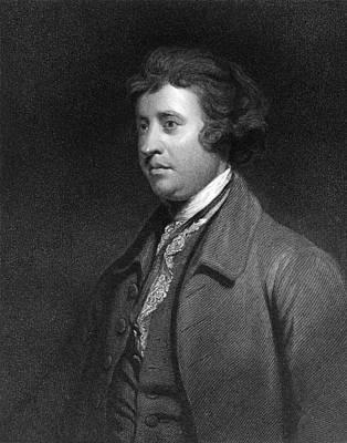 Edmund Burke, Irish Politician Art Print