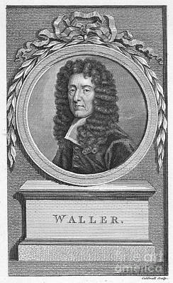 Edmund Waller (1606-1687) Art Print by Granger