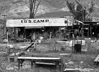 Photograph - Ed's Camp by Gilbert Artiaga