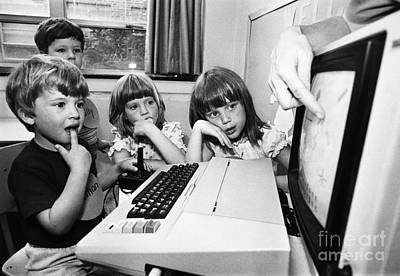 Photograph - Education: Computers, 1983 by Granger