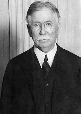 Oil Portrait Photograph - Edward L. Doheny, Oil Magnate by Everett