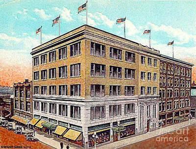 Painting - Edward Wren Co. In Springfield Oh 1920 by Dwight Goss
