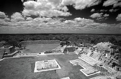 Photograph - Edzna Ruins Campeche Mexico by John  Mitchell