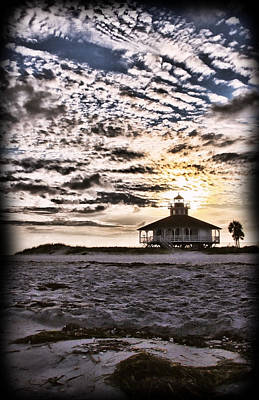Photograph - Eerie Lighthouse by Shari Jardina