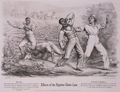 Effects Of The Fugitive-slave-law Art Print by Everett