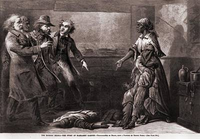 Effects Of The Fugitive-slave-law. The Art Print by Everett
