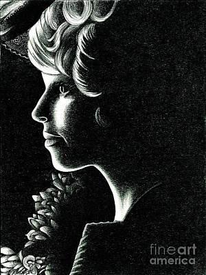 Effie Trinket Art Print by Crystal Rosene
