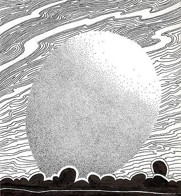 Egg Drawing 069827 Art Print