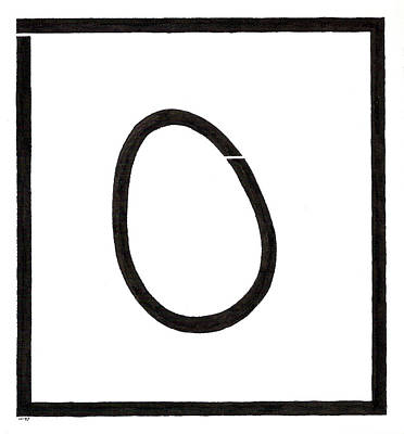 Drawing - Egg Drawing 129716 by Phil Burns