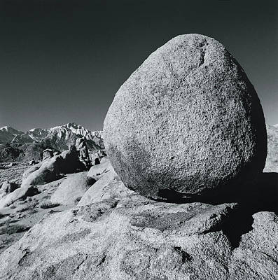 Egg, Lone Pine, California, Usa Art Print