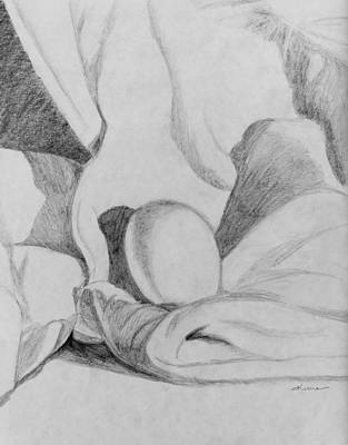 Drawing - Egg Rendering by Kume Bryant