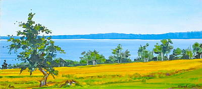 Painting - Eggamoggen Reach by Sarah Gayle Carter