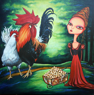 Painting - Eggs by Leanne Wilkes