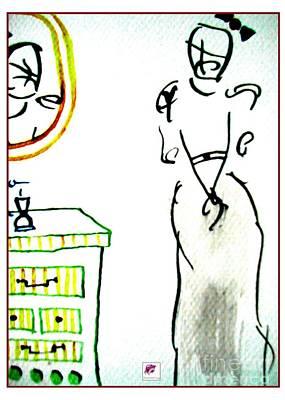 Drawing - Ego by Carol Rashawnna Williams