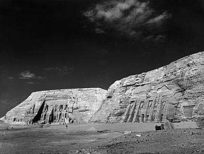 Photograph - Egypt: Abu Simbel, 1968 by Granger