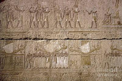 Amen Photograph - Egypt: Karnak Ruins by Granger