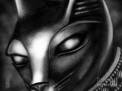 Egyptian Cat Art Print