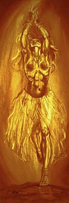 Osiris Mixed Media - Egyptian Dancer 2 by Christo Wolmarans