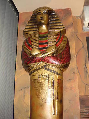Siporex Sculpture - Egyptian Mummy by Rana Rahman