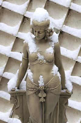 Photograph - Egyptian Snow Girl by Ed Lukas