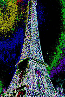 Photograph - Eiffel by David Alvarez