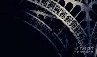 Photograph - Eiffel Detail by RicharD Murphy
