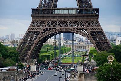 Photograph - Eiffel Gigantic by Eric Tressler
