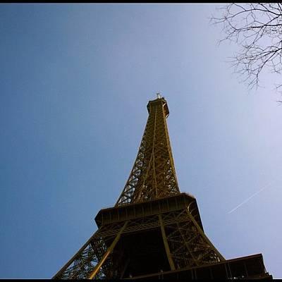 Golden Wall Art - Photograph - Eiffel Tower ! by Levi Golden