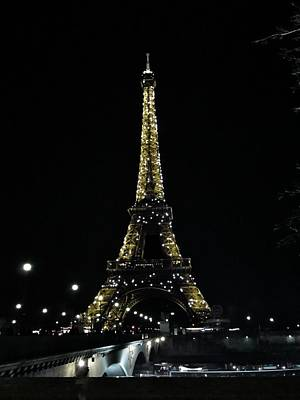 Paris Skyline Royalty-Free and Rights-Managed Images - Eiffel Tower - Paris by Marianna Mills