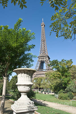 Photograph - Eiffel Tower And Krater by Fabrizio Ruggeri