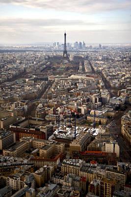 Photograph - Eiffel Tower And Paris by Van Corey