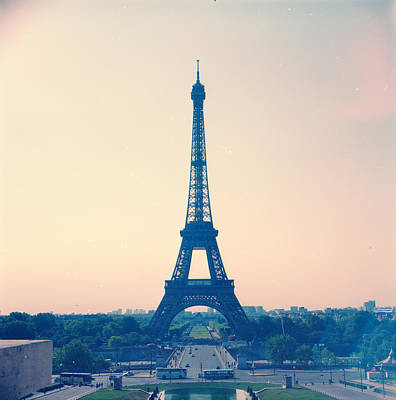 Paris Photograph - Eiffel Tower by Antimoloko