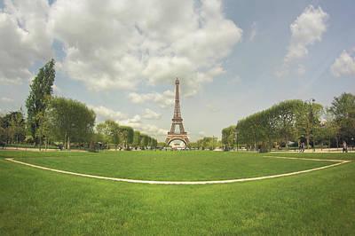 Paris Photograph - Eiffel Tower by by Juanedc