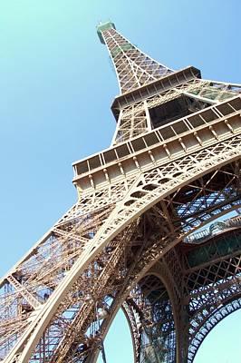 Paris Photograph - Eiffel Tower From Beneath by Photo by Ira Heuvelman-Dobrolyubova