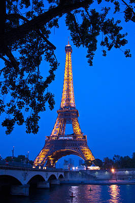 La Tour Eiffel Photograph - Eiffel Tower II by Jon Berghoff