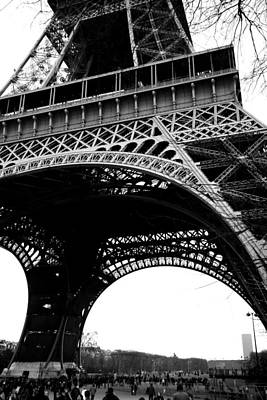 Photograph - Eiffel Tower In Winter by Van Corey