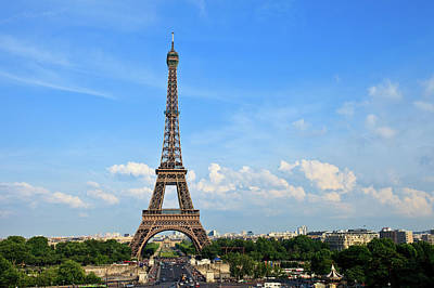 Paris Photograph - Eiffel Tower by Kelly Cheng Travel Photography