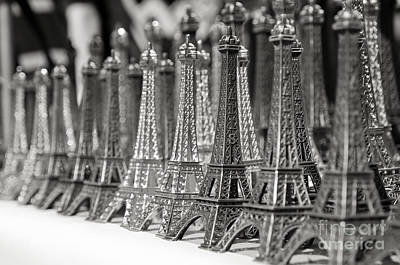 Photograph - Eiffel Tower Miniature by Olivier Steiner