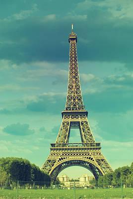 Paris Photograph - Eiffel Tower Paris by Mihaela Muntean