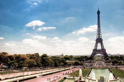 Eiffel Tower Art Print by Photo by Stuart Gleave