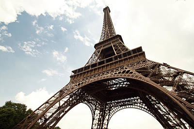 Paris Photograph - Eiffel Tower by Timothylui1105