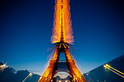 Photograph - Eiffel Tower Zoom by Anthony Doudt