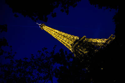 Art Print featuring the photograph Eiffel's Magnificence by Marta Cavazos-Hernandez