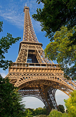 Photograph - Eiffle Tower by David Freuthal