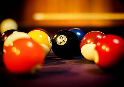 Photograph - Eight Ball by Heather Applegate