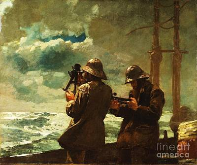 Mariner Painting - Eight Bells by Pg Reproductions