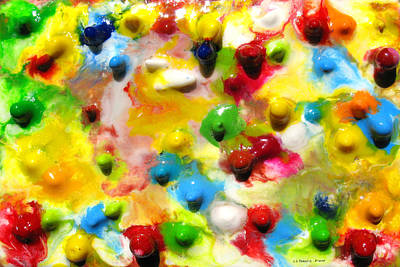 Encaustic Painting - Eight Weeks In The Making by Carl Deaville