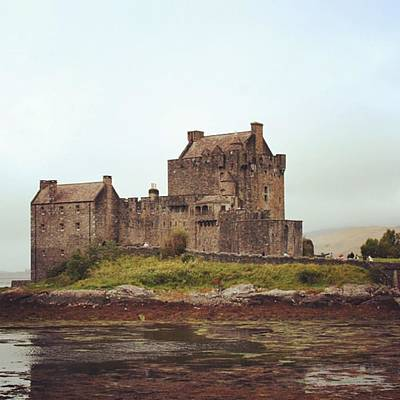 Fantasy Wall Art - Photograph - Eilean Donan Castle - Scotland by Luisa Azzolini