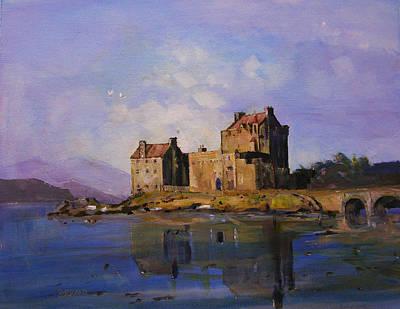 Eilean Donan Castle Art Print by Peter Tarrant